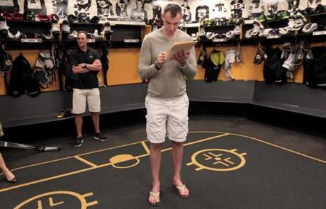 Zdeno Chara, who speaks six languages, insists that only English be spoken by teammates in group settings.